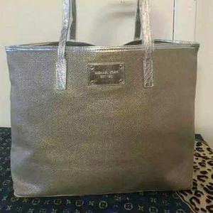 Michael Kors Gold/Silver Tote Bag